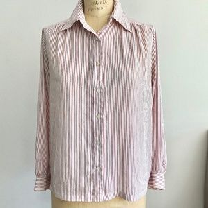 Vintage Pierre Balmain Authentic Button Up Blouse!